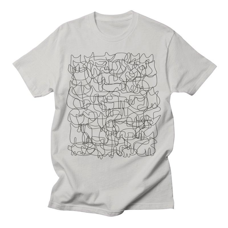 Cats. Men's T-Shirt by bulo