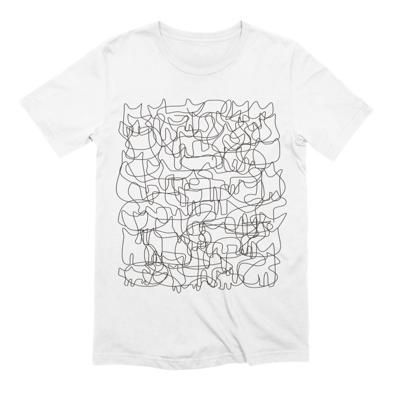 Cats Men's Extra Soft T-Shirt by bulo