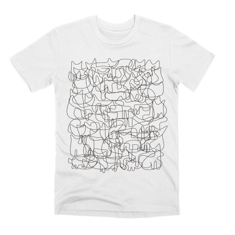 Cats Men's Premium T-Shirt by bulo