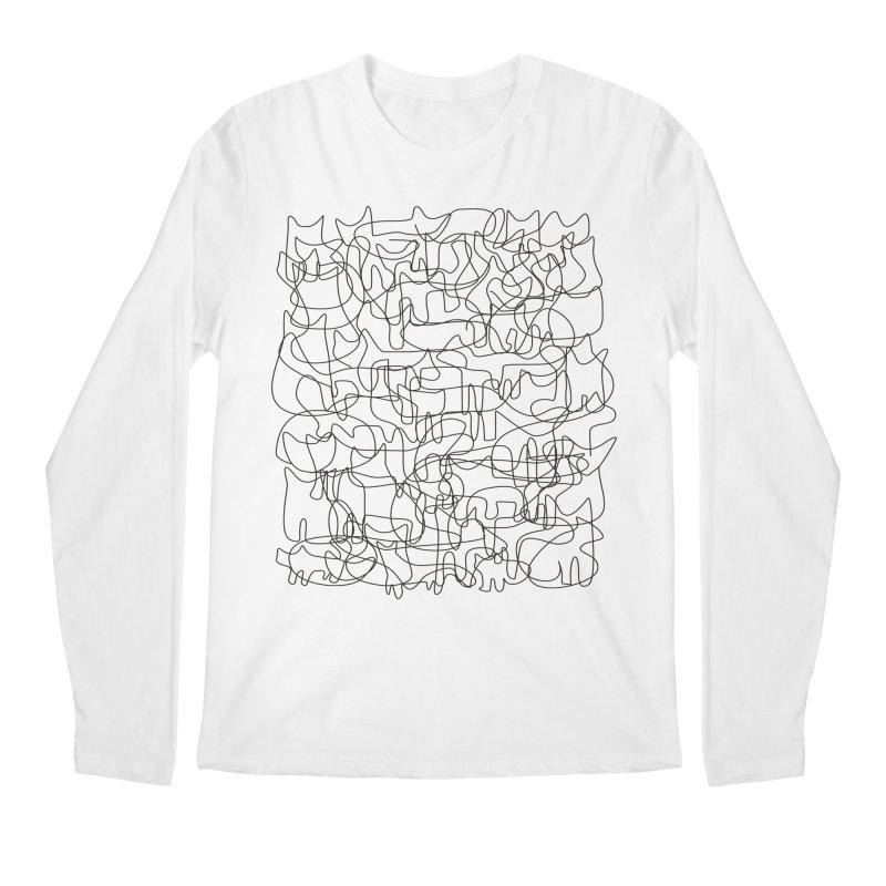 Cats Men's Regular Longsleeve T-Shirt by bulo