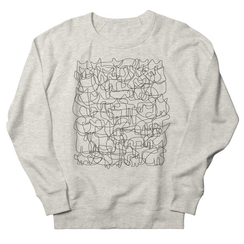 Cats Women's French Terry Sweatshirt by bulo