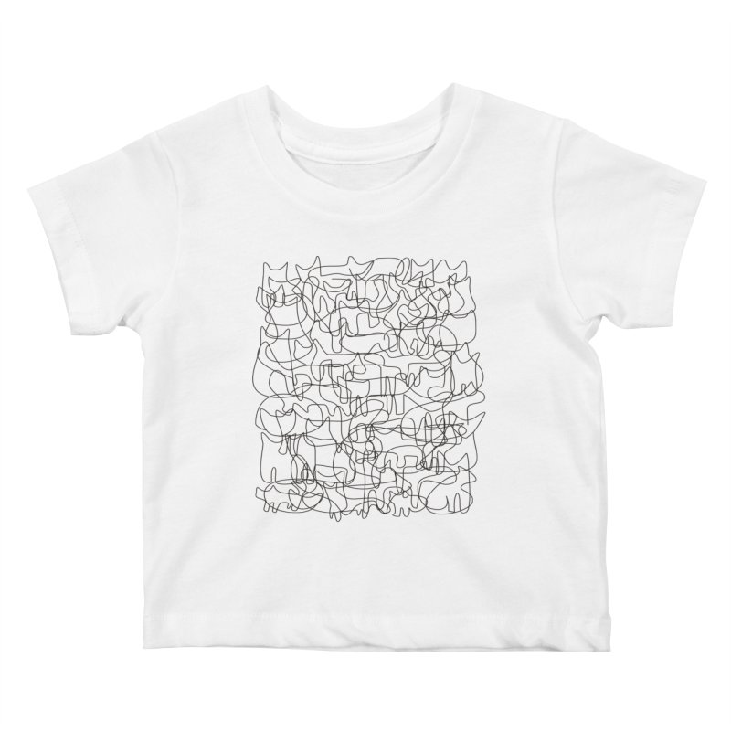 Cats Kids Baby T-Shirt by bulo