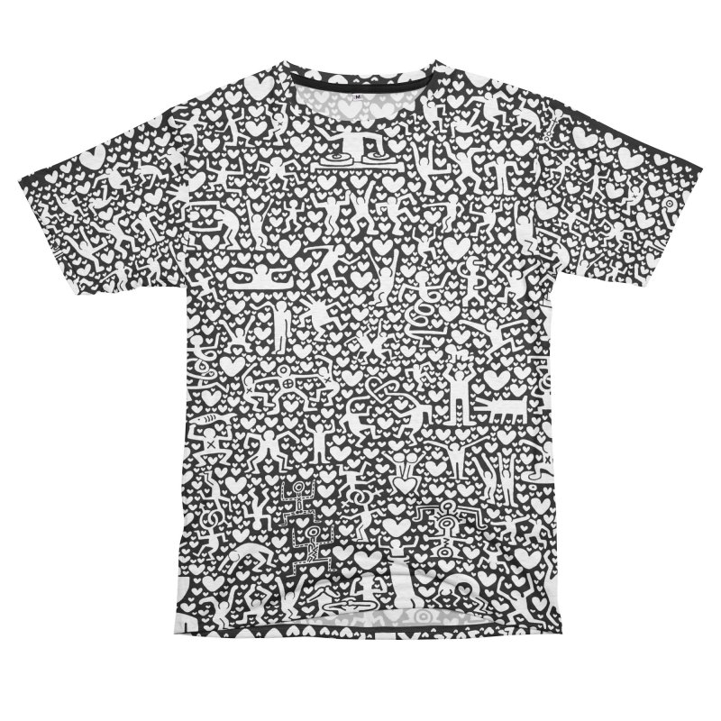 After Party Men's French Terry T-Shirt Cut & Sew by bulo