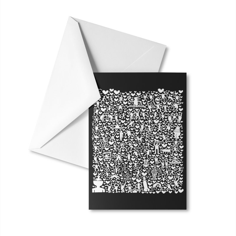 After Party Accessories Greeting Card by bulo
