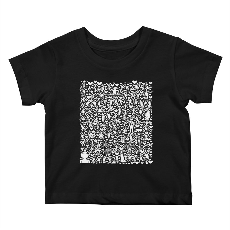 After Party Kids Baby T-Shirt by bulo