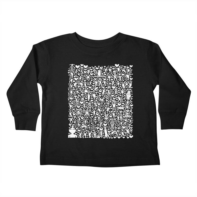 After Party Kids Toddler Longsleeve T-Shirt by bulo