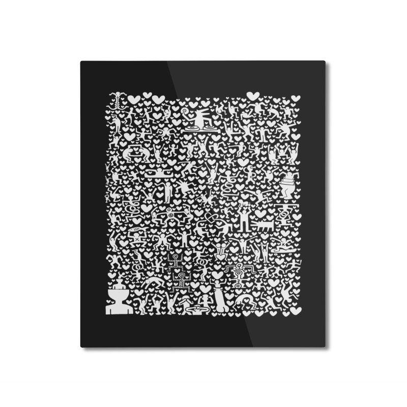 After Party Home Mounted Aluminum Print by bulo