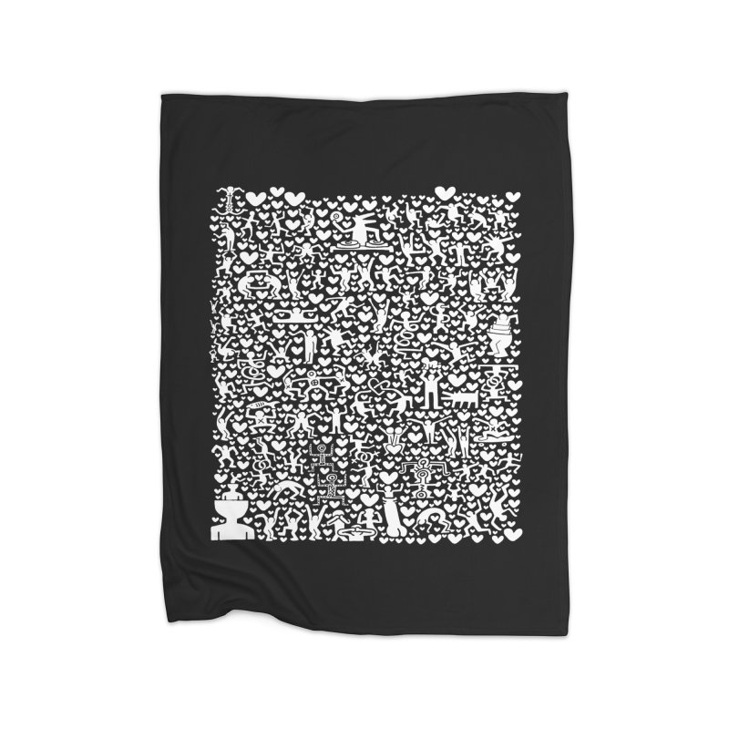After Party Home Fleece Blanket Blanket by bulo