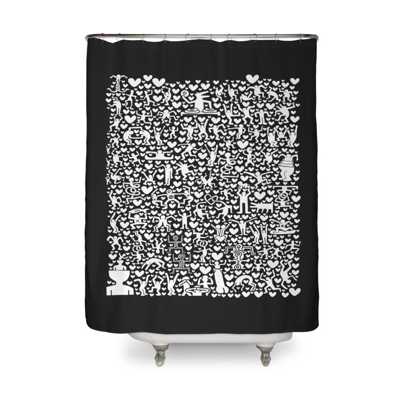 After Party Home Shower Curtain by bulo