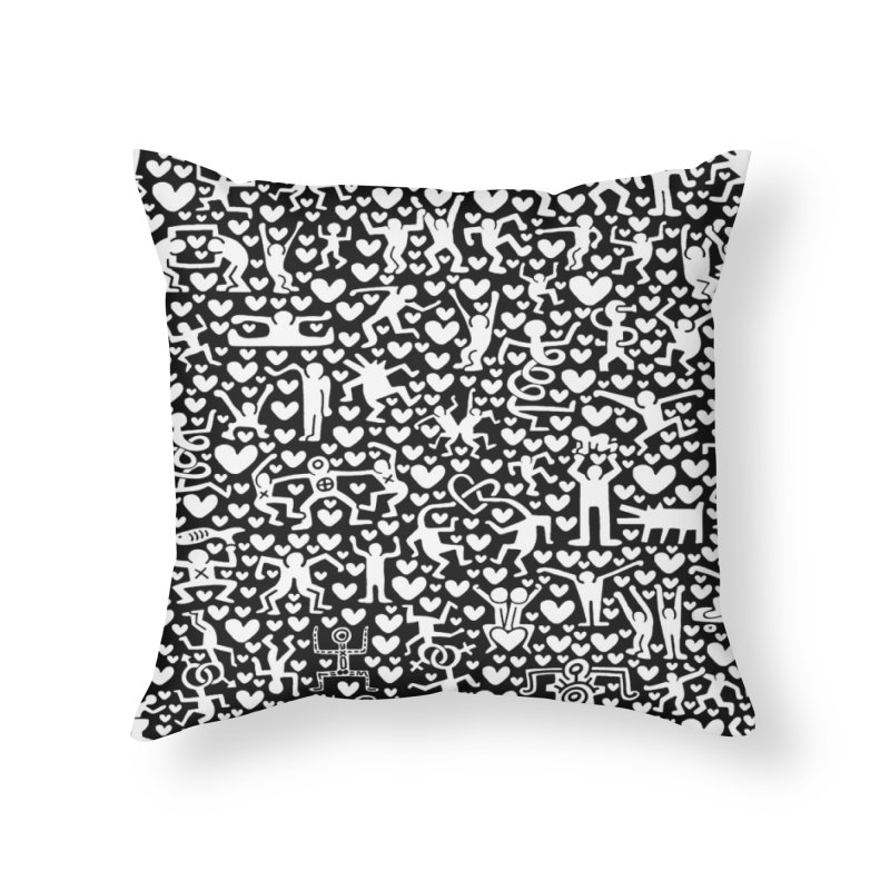 After Party Home Throw Pillow by bulo