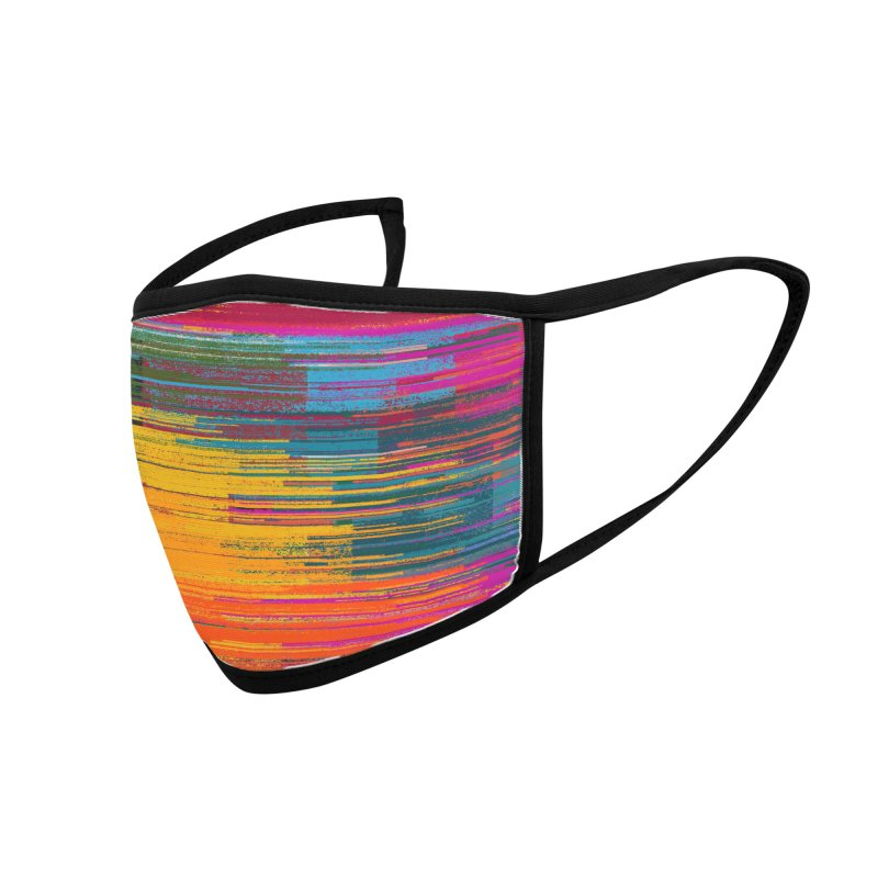Sunset Fusion Accessories Face Mask by bulo