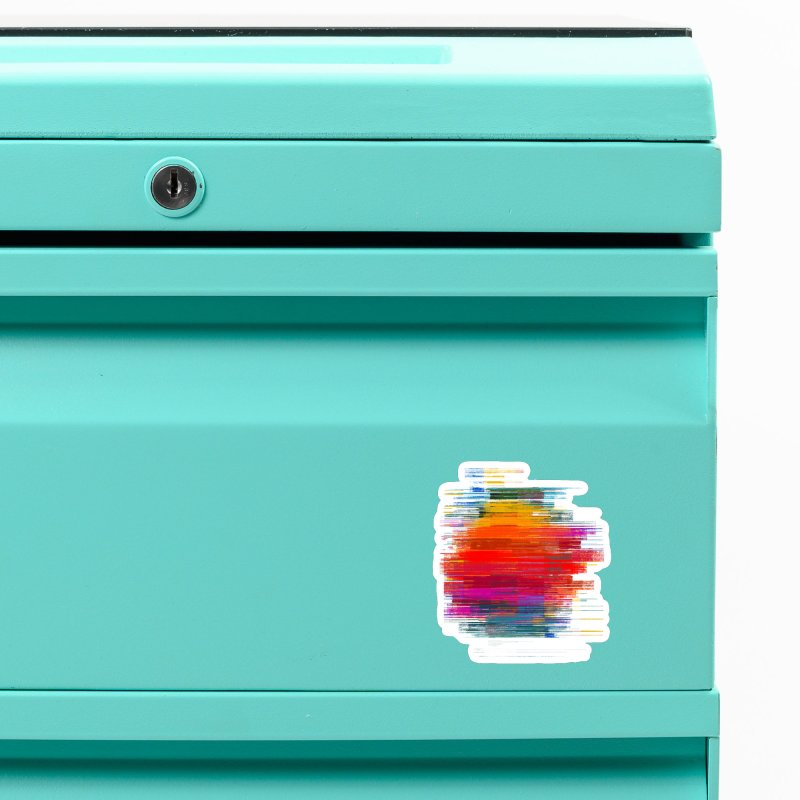Sunset Fusion Accessories Magnet by bulo
