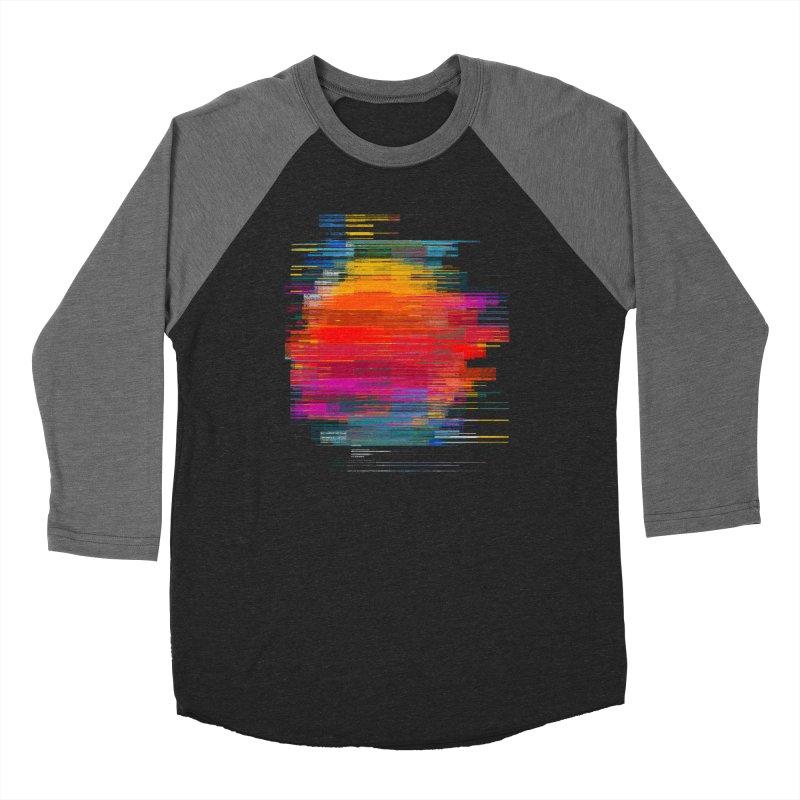 Sunset Fusion Women's Baseball Triblend Longsleeve T-Shirt by bulo