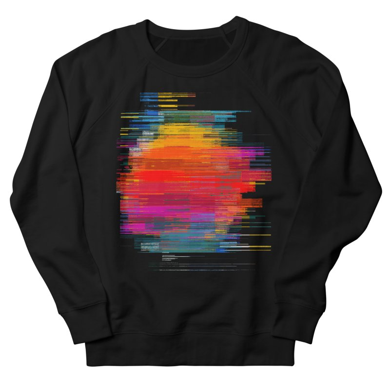 Sunset Fusion Men's French Terry Sweatshirt by bulo