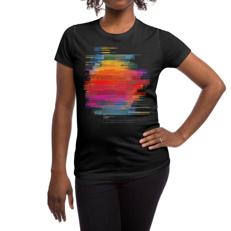 Sunset Fusion Women's T-Shirt by bulo