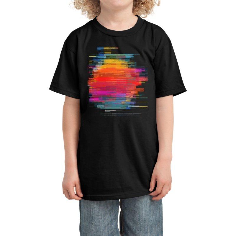 Sunset Fusion Kids T-Shirt by bulo