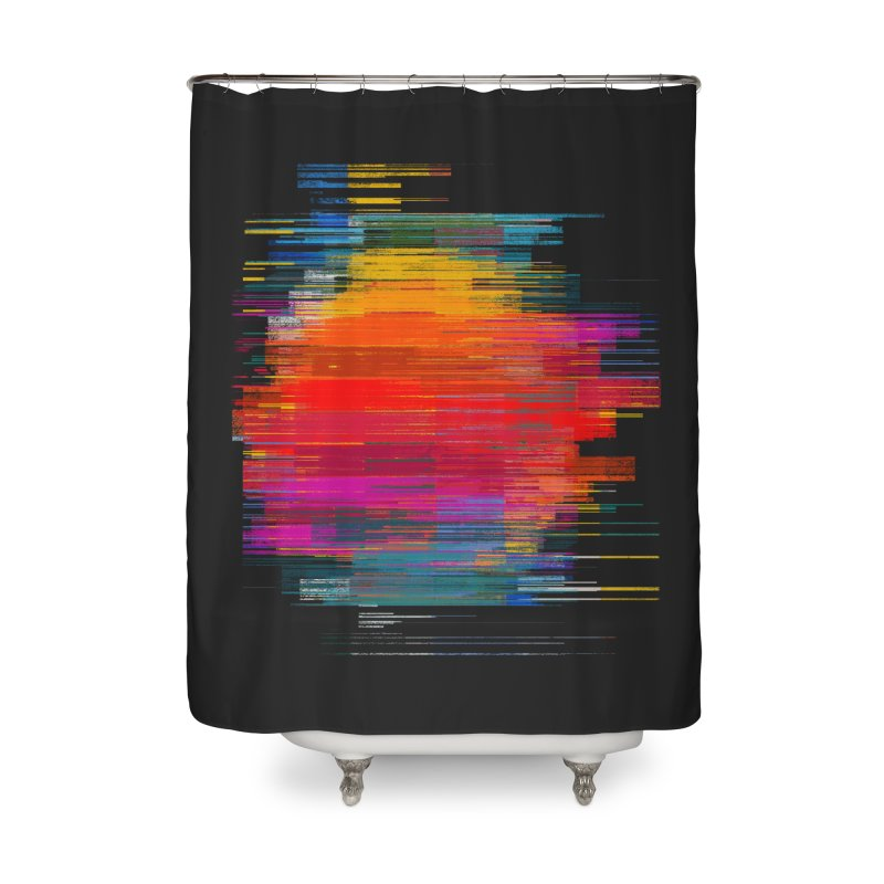 Sunset Fusion Home Shower Curtain by bulo