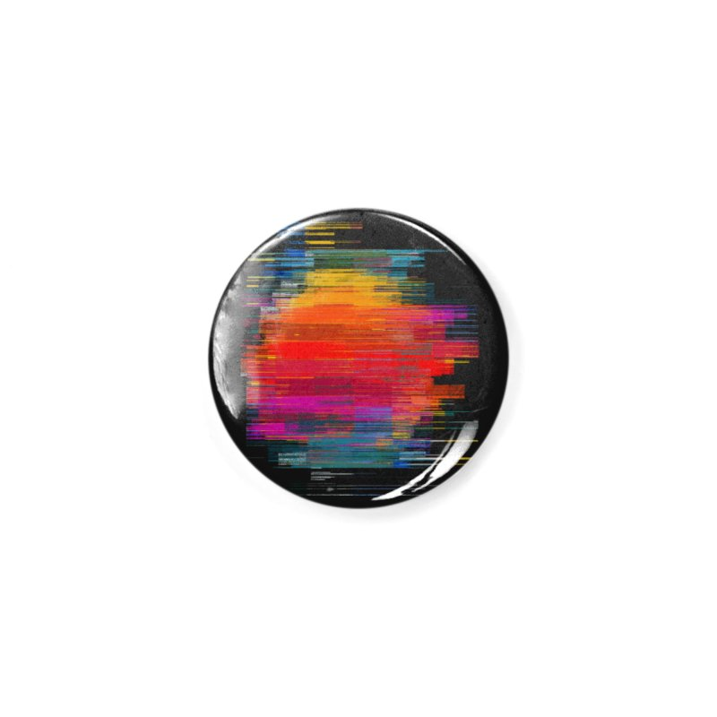 Sunset Fusion Accessories Button by bulo