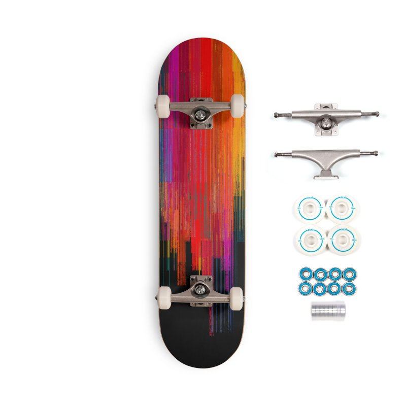 Sunset Fusion Accessories Complete - Basic Skateboard by bulo