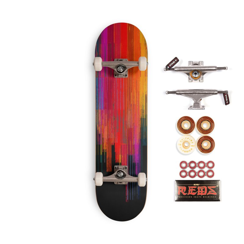 Sunset Fusion Accessories Skateboard by bulo