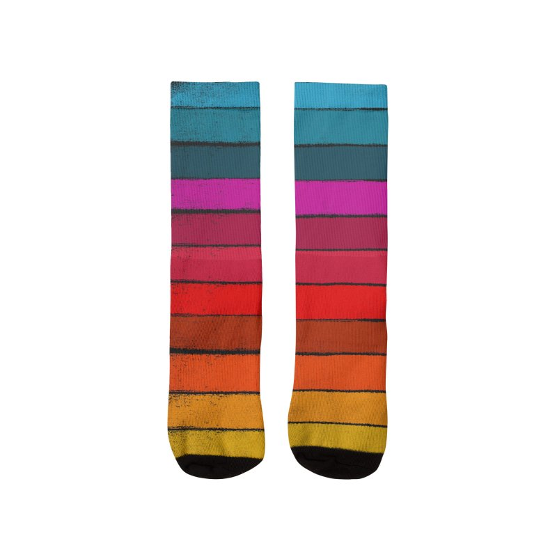 Sunset Fusion Men's Socks by bulo