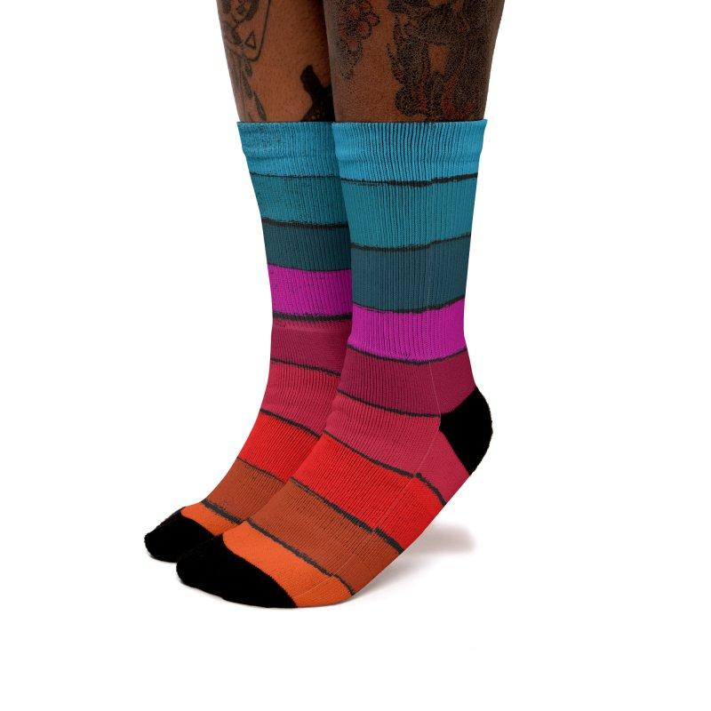 Sunset Fusion Women's Socks by bulo