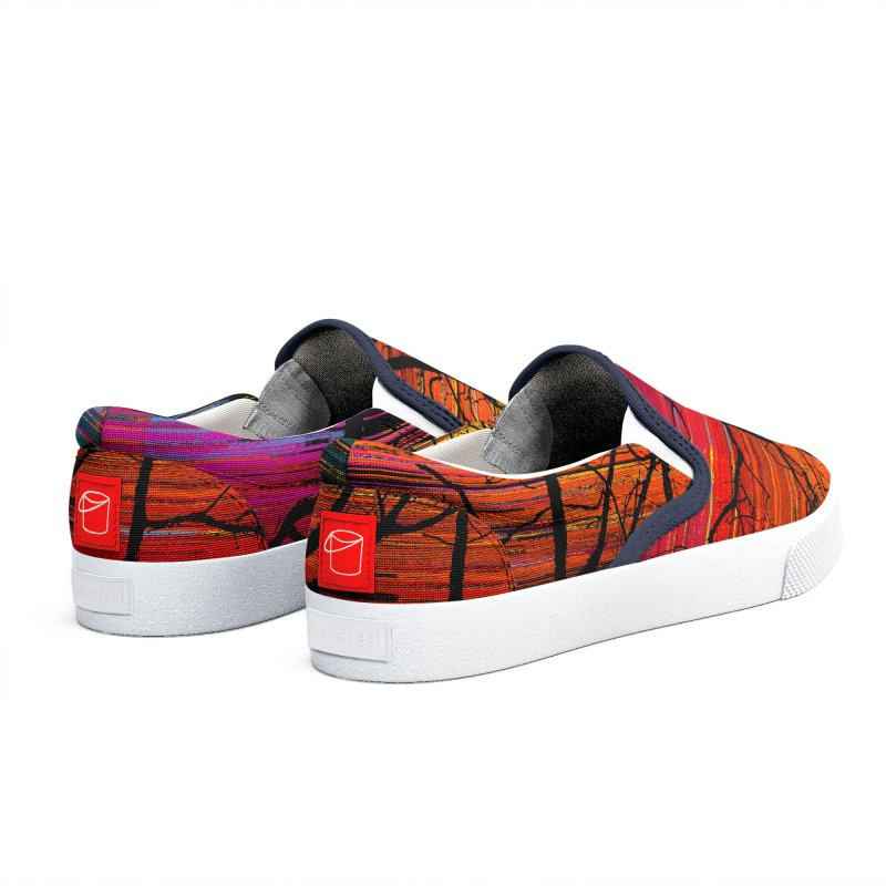 Sunset Fusion (lone tree version) Women's Shoes by bulo