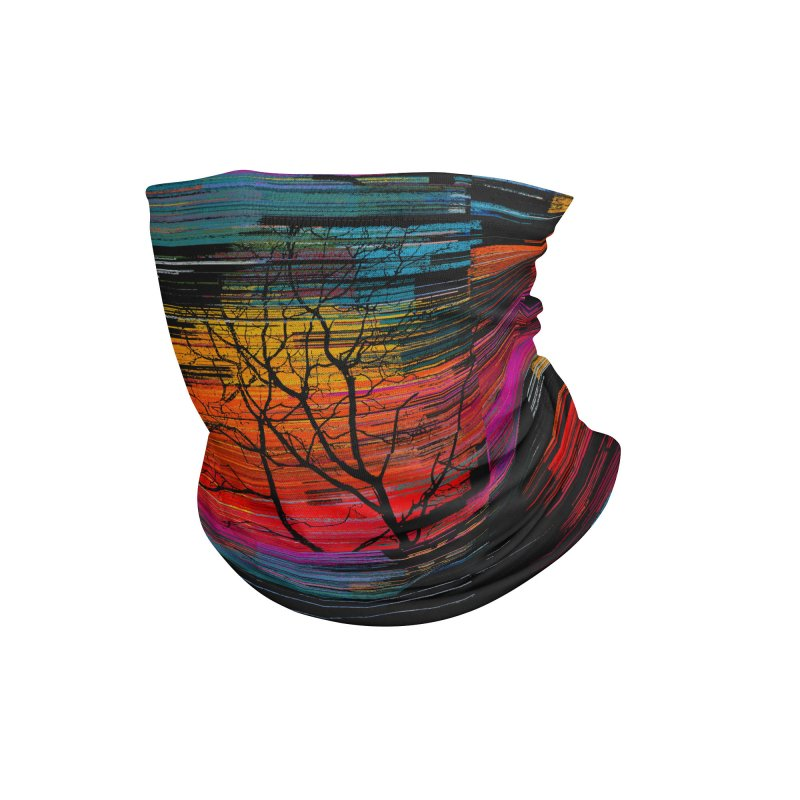 Sunset Fusion (lone tree version) Accessories Neck Gaiter by bulo