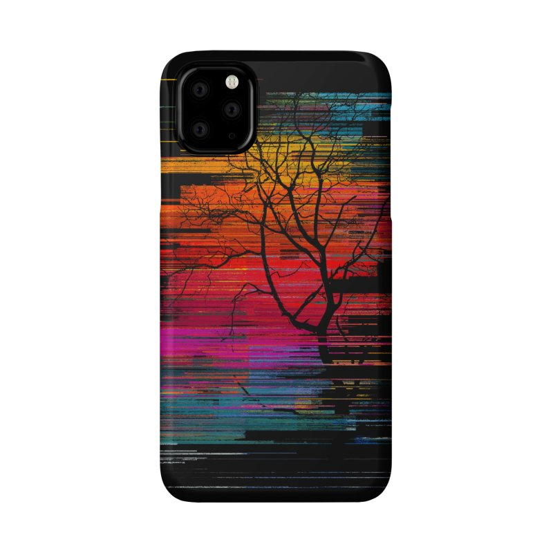 Sunset Fusion (lone tree version) Accessories Phone Case by bulo