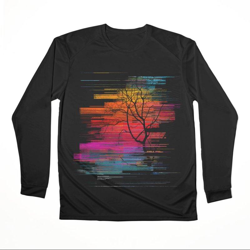 Sunset Fusion (lone tree version) Women's Performance Unisex Longsleeve T-Shirt by bulo