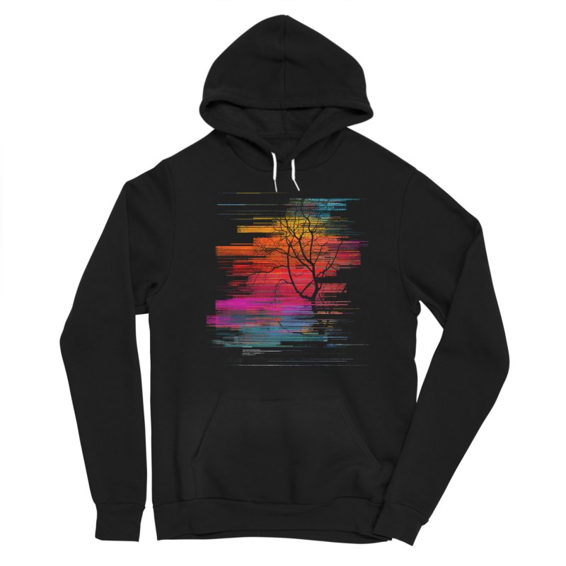 Sunset Fusion (lone tree version) Women's Pullover Hoody by bulo