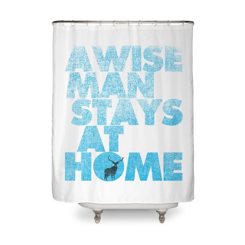 Waldo Home Shower Curtain by bulo