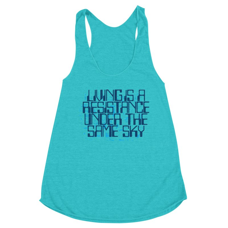 Don't forget! Women's Racerback Triblend Tank by bulo