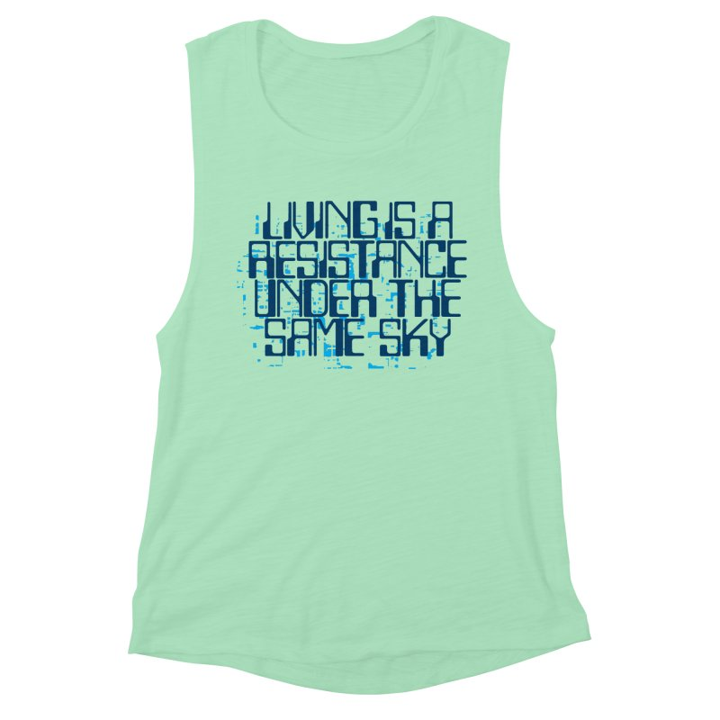 Don't forget! Women's Muscle Tank by bulo