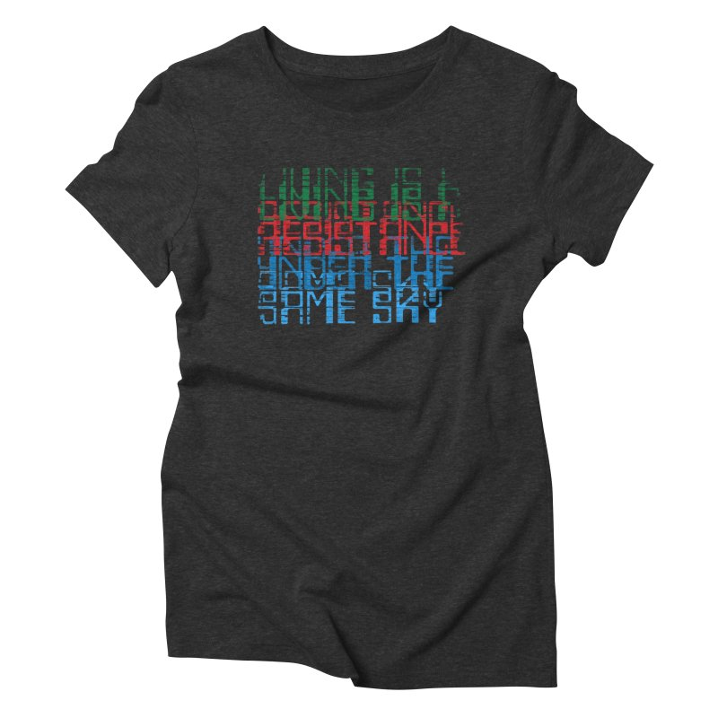 Don't forget! Women's Triblend T-Shirt by bulo