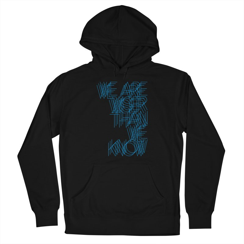 We are wiser than we know Women's French Terry Pullover Hoody by bulo