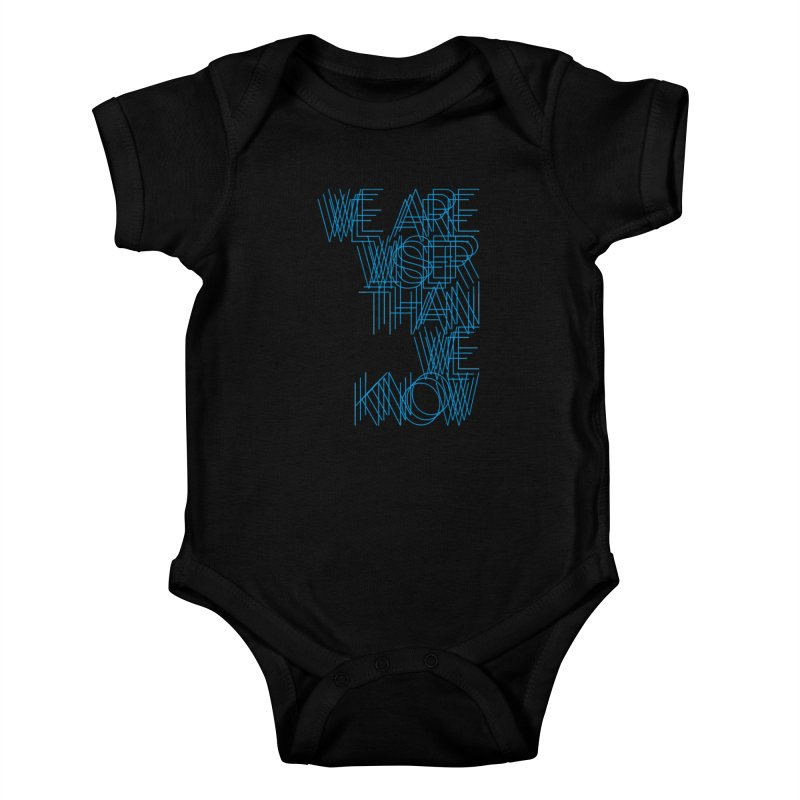 We are wiser than we know Kids Baby Bodysuit by bulo
