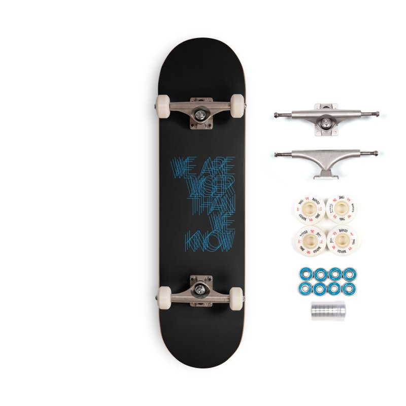 We are wiser than we know Accessories Complete - Premium Skateboard by bulo
