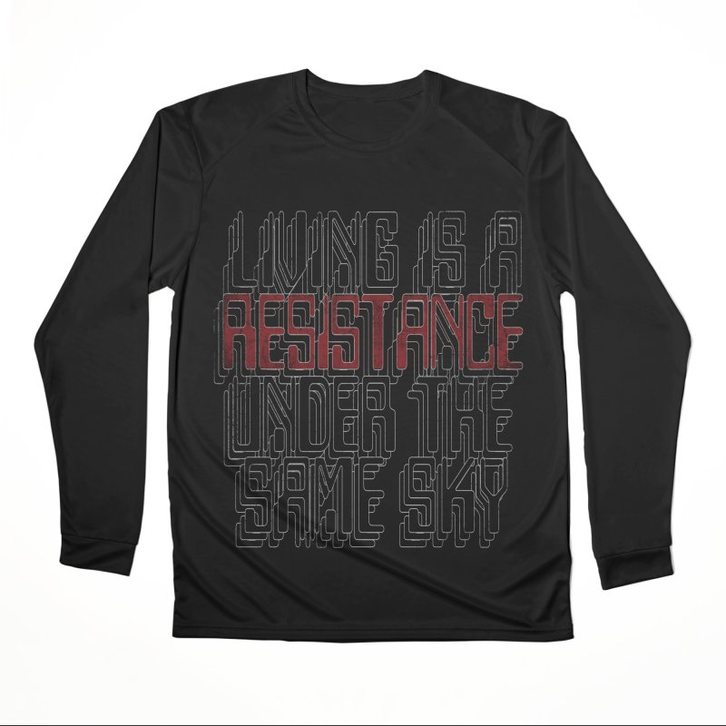 Don't forget! Men's Performance Longsleeve T-Shirt by bulo