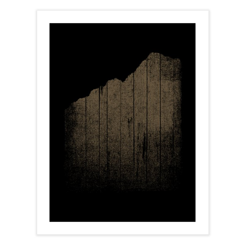 Mountain Home Fine Art Print by bulo