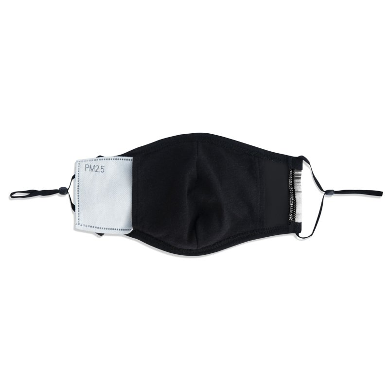 White Noise Accessories Face Mask by bulo