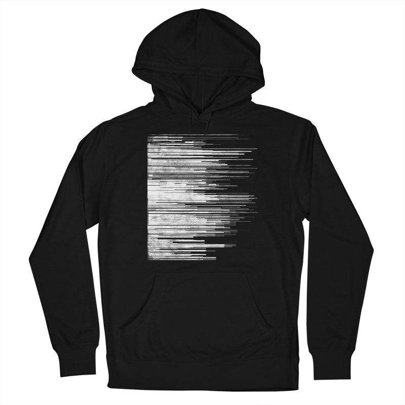 White Noise Men's Pullover Hoody by bulo