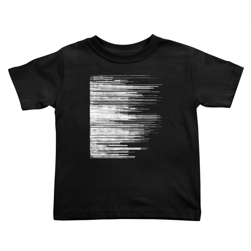 White Noise Kids Toddler T-Shirt by bulo