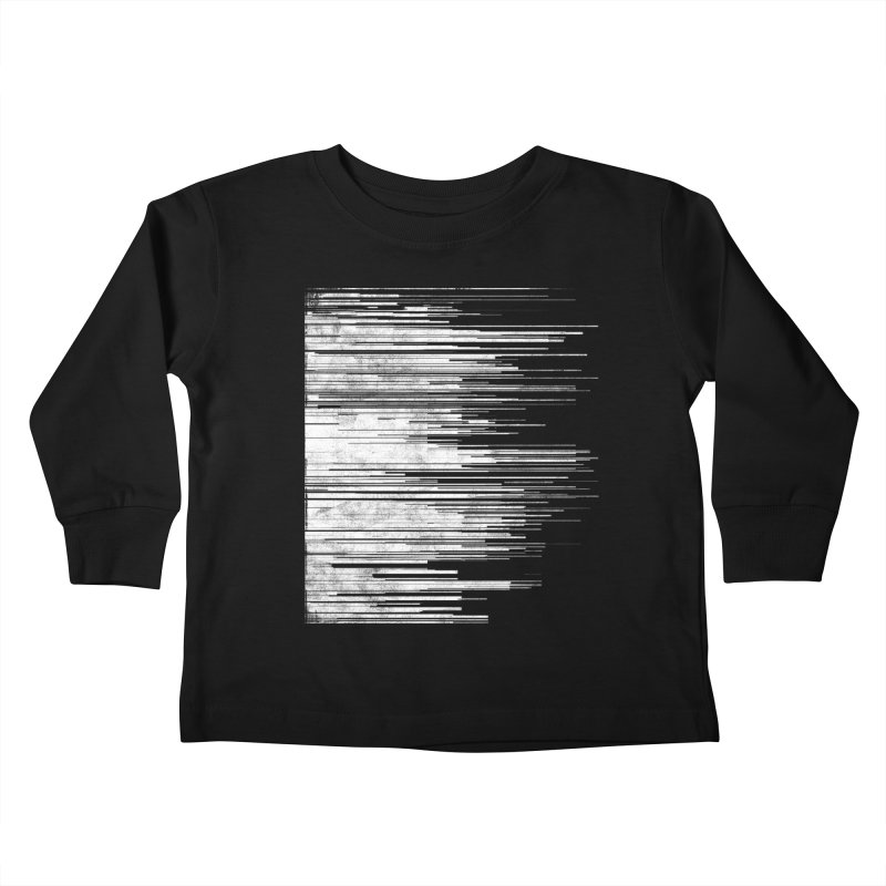 White Noise Kids Toddler Longsleeve T-Shirt by bulo