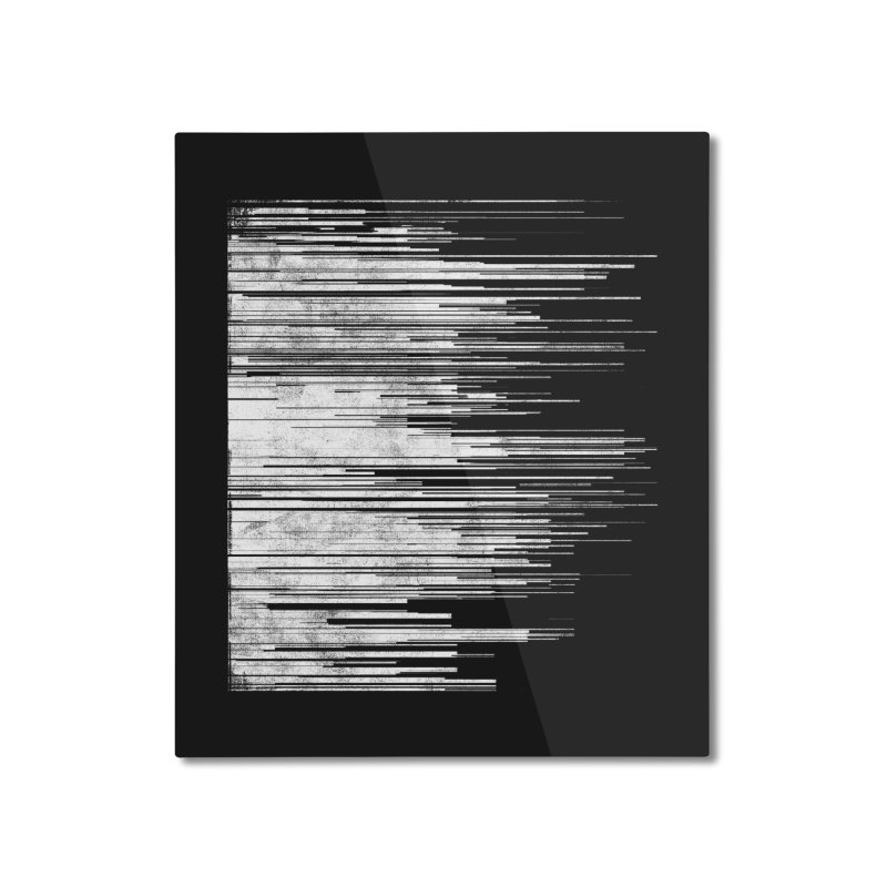 White Noise Home Mounted Aluminum Print by bulo
