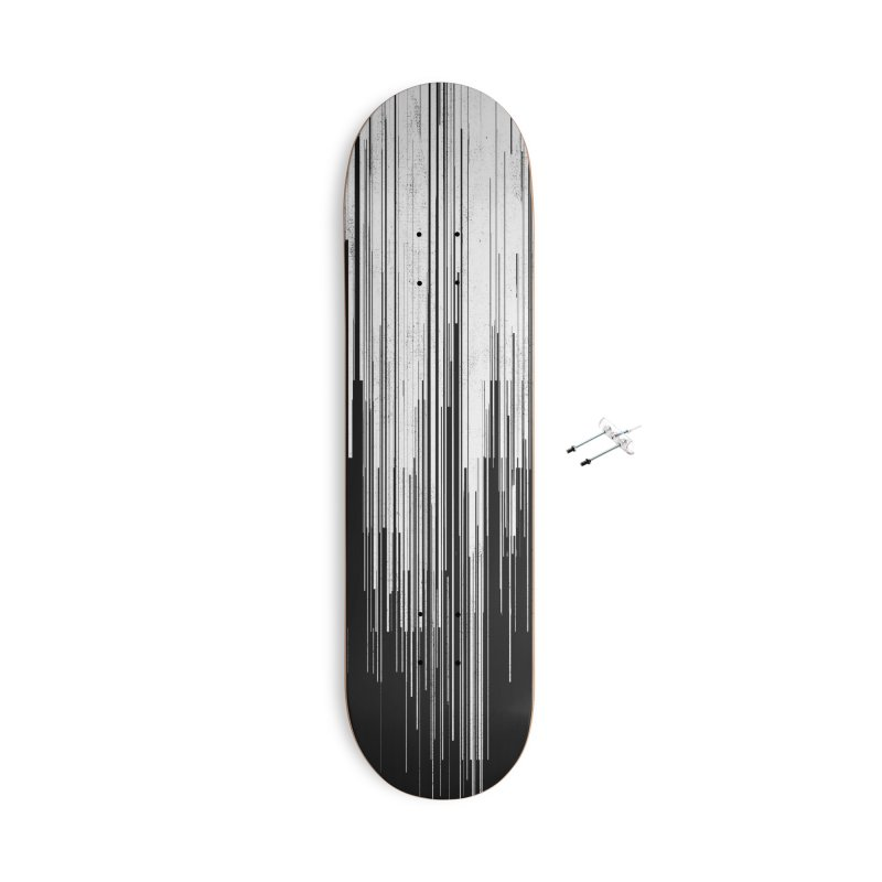 White Noise Accessories Skateboard by bulo