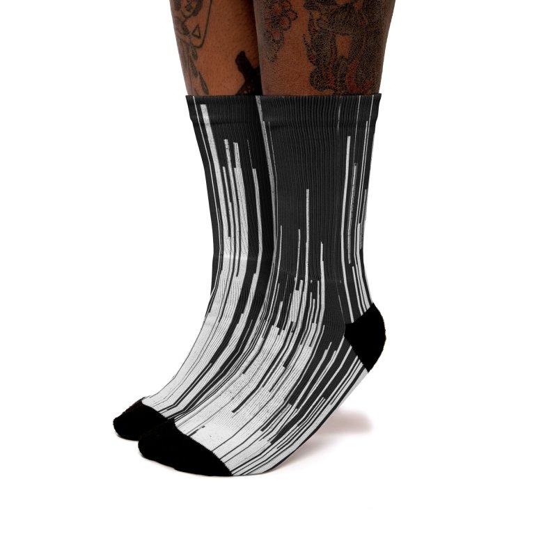 White Noise Women's Socks by bulo