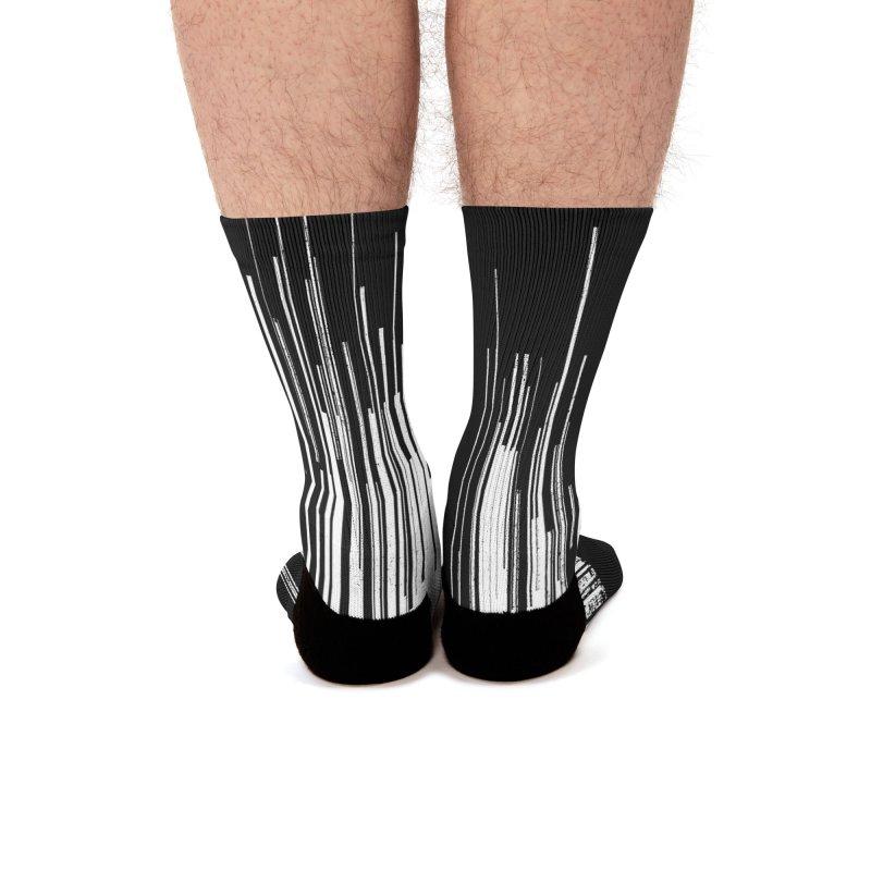 White Noise Men's Socks by bulo