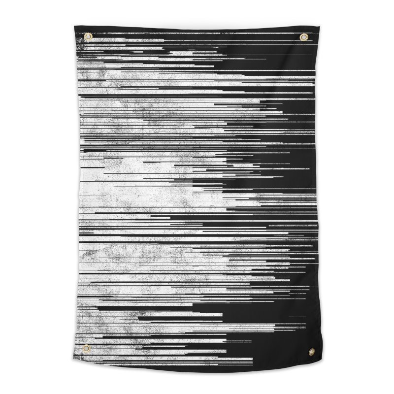 White Noise Home Tapestry by bulo