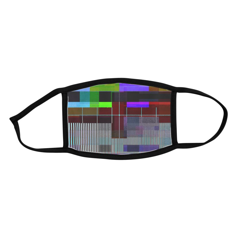 Test Card Accessories Face Mask by bulo